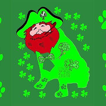 Dog Leprechaun by kabsannie