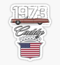 73 Caddy Convertible Sticker