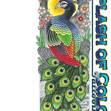 Peacock T by asplashofcolor