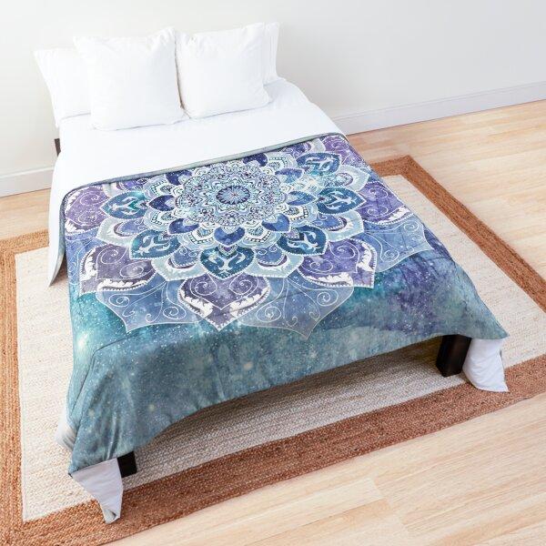 FREE YOUR MIND MANDALA in Blue Comforter