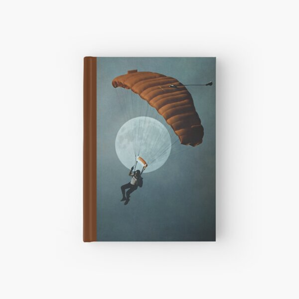 Skydiver's Moon Hardcover Journal