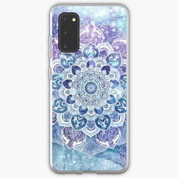 FREE YOUR MIND MANDALA in Blue Samsung Galaxy Soft Case