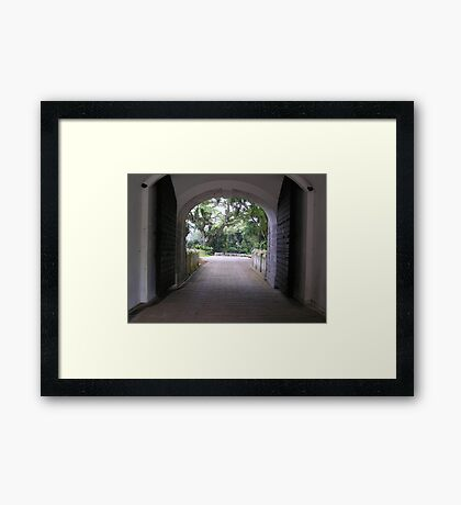Fort Canning - Singapore Framed Print