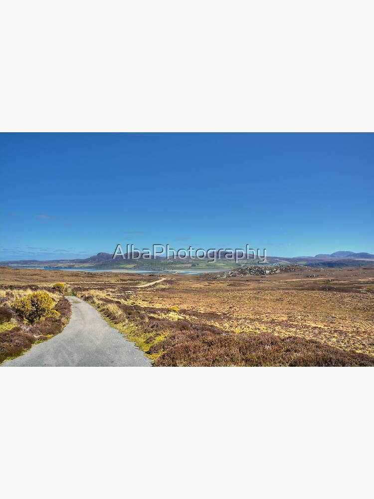 The Road to Tongue, Sutherland, Scotland by AlbaPhotography