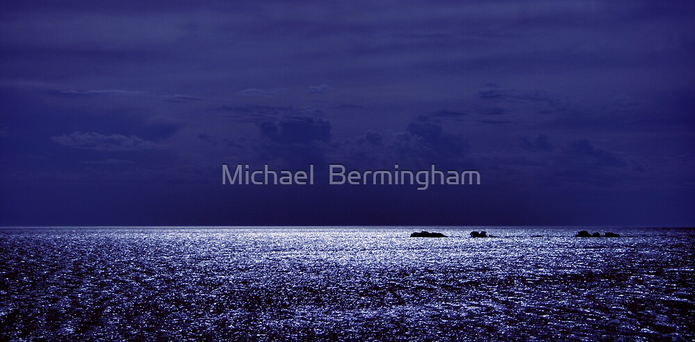 HARD TO STARBOARD!! by Michael  Bermingham