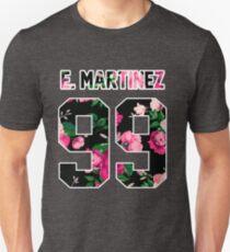 Emilio Martinez - Colorful Flowers Unisex T-Shirt