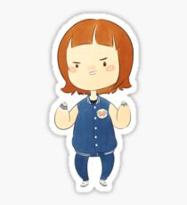 Lee Sung-Kyung Chibi Style Chubs Sticker