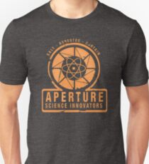Camiseta unisex Aperture Laboratories
