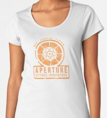 Aperture Laboratories Women's Premium T-Shirt