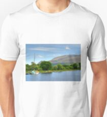 Caledonian Canal, Highlands, Scotland. Unisex T-Shirt