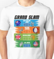 Grand Slam of Tennis Unisex T-Shirt