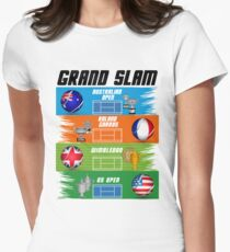 Grand Slam of Tennis Women's Fitted T-Shirt