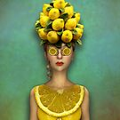 Lovely Lemon Lady von Britta Glodde