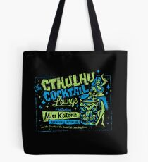 Cthulhu Cocktail Lounge Tote Bag