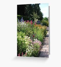 The Herbaceous Border Greeting Card