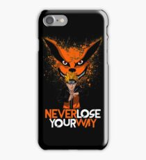 Never Lose Your Way iPhone Case/Skin