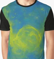 Abstract Galactic Nebula with cosmic cloud 11 Graphic T-Shirt