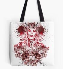 RuPaul Katya Zamolodchikova Gothic Russian Print Tote Bag
