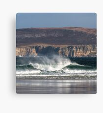 Chailgeag breakers Canvas Print