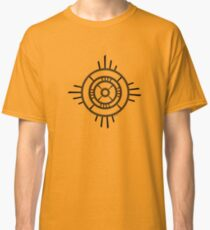 Mandala 4 Back In Black Classic T-Shirt