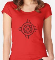 Mandala 4 Back In Black Women's Fitted Scoop T-Shirt