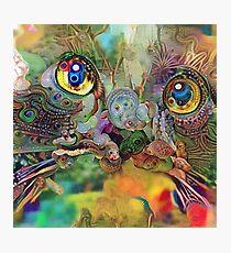 Abstract Catnip Dream (Electric Catnip) Photographic Print