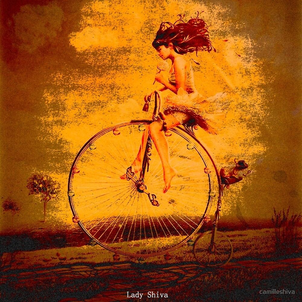 """"""" The life, it is as a bicycle, it is necessary to move forward not to lose the balance. """" by camilleshiva"""