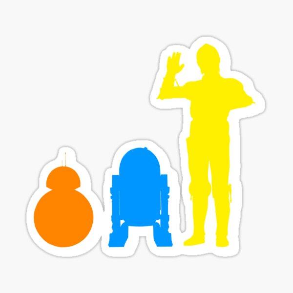 Droids Sticker