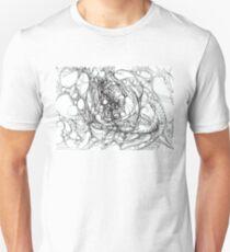 "Abstract graphic artwork ""Pulsation Unisex T-Shirt"