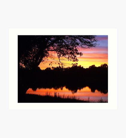 Boring sunset shot Art Print
