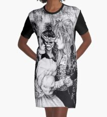Labyrinth masquerade ball Graphic T-Shirt Dress