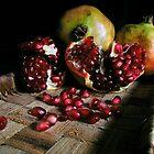 Pomegranates n.1 by Silvia Ganora