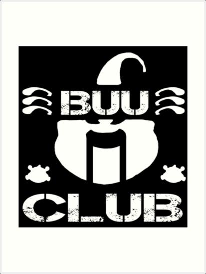 The Majin Buu Club Dbz Njpw Bullet Club This Art Prints By