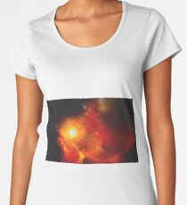 Abstract Nebulla with Galactic Cosmic Cloud 30 Women's Premium T-Shirt