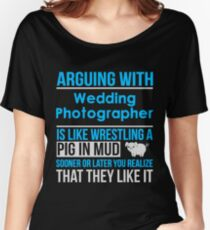 WEDDING PHOTOGRAPHER - LATEST DESIGN Women's Relaxed Fit T-Shirt