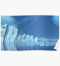 Eiswelt I - Serene Poster