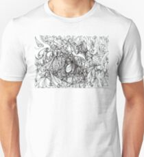 """Abstract graphic artwork """"Tension"""" Unisex T-Shirt"""