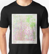USGS TOPO Map Florida FL Sulphur Springs 348729 1956 24000 Unisex T-Shirt