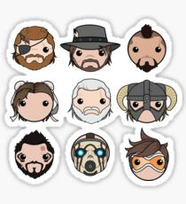 Faces of Gaming Sticker