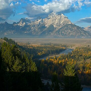 Snake River Overlook - Grand Tetons National Park by CameraView