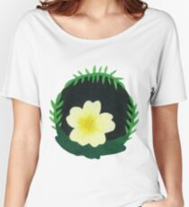 Primrose Botanical Painting Women's Relaxed Fit T-Shirt