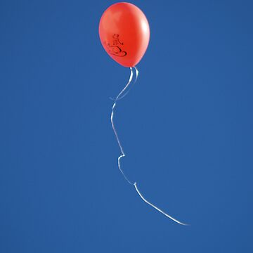 Red Balloon by Artway