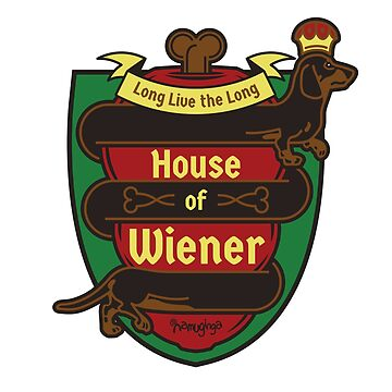 House of Wiener - Dachshund dog crest by Namuginga