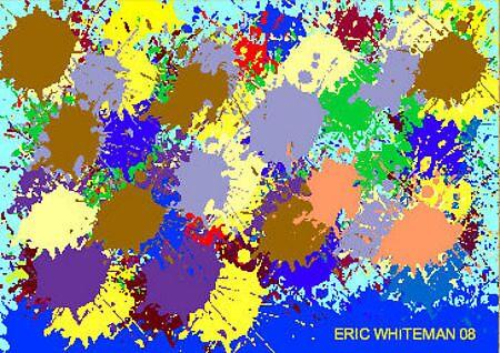 (BLOOD & GUTS ) ERIC WHITEMAN  ART  by eric  whiteman