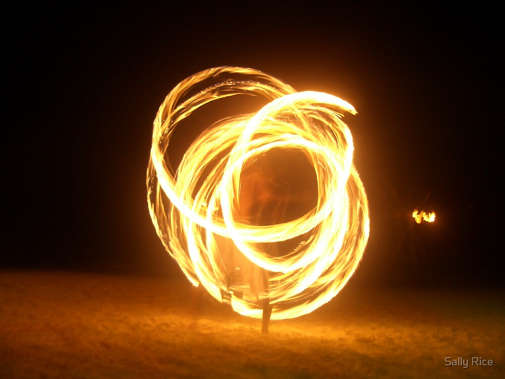 Fire Dancing by Sally Rice