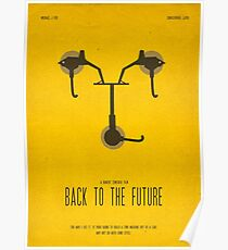 Back To The Future Film Poster Poster
