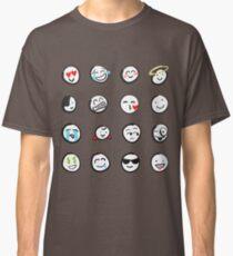 Emoji sticker sheet by mDeltaV Classic T-Shirt