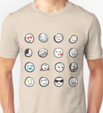 Emoji sticker sheet by mDeltaV Unisex T-Shirt