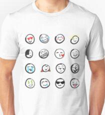 Emoji sticker sheet by mDeltaV Unisex T-Shirt