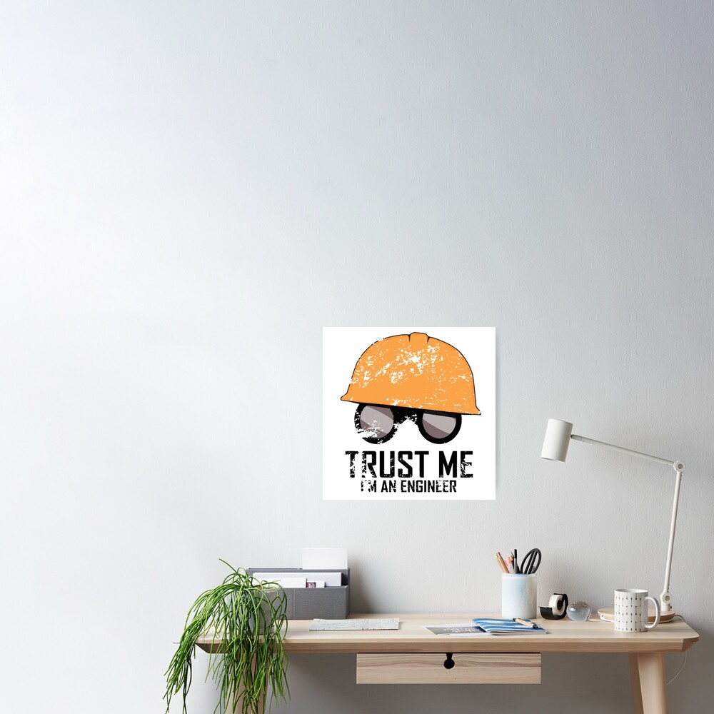 Team Fortress 2 - Trust me! I'm an Engineer! Poster